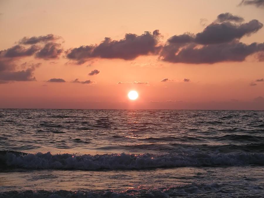 Honeymoon Island Photograph - Honey Moon Island Sunset by Bill Cannon