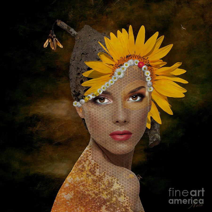 Surreal Digital Art - Honey by Nola Lee Kelsey