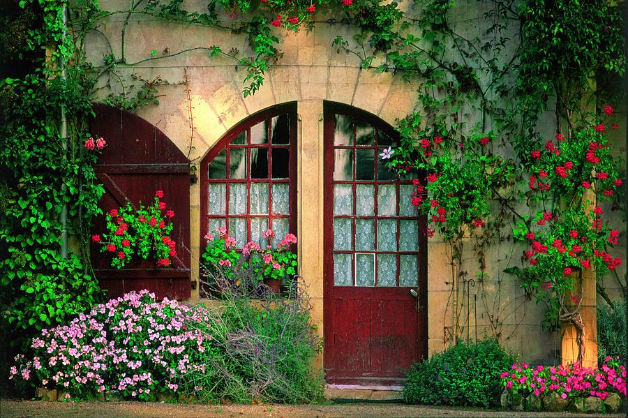 House Photograph - Honey Stone House by John Galbo