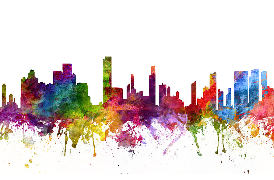 Image result for honolulu skyline drawing