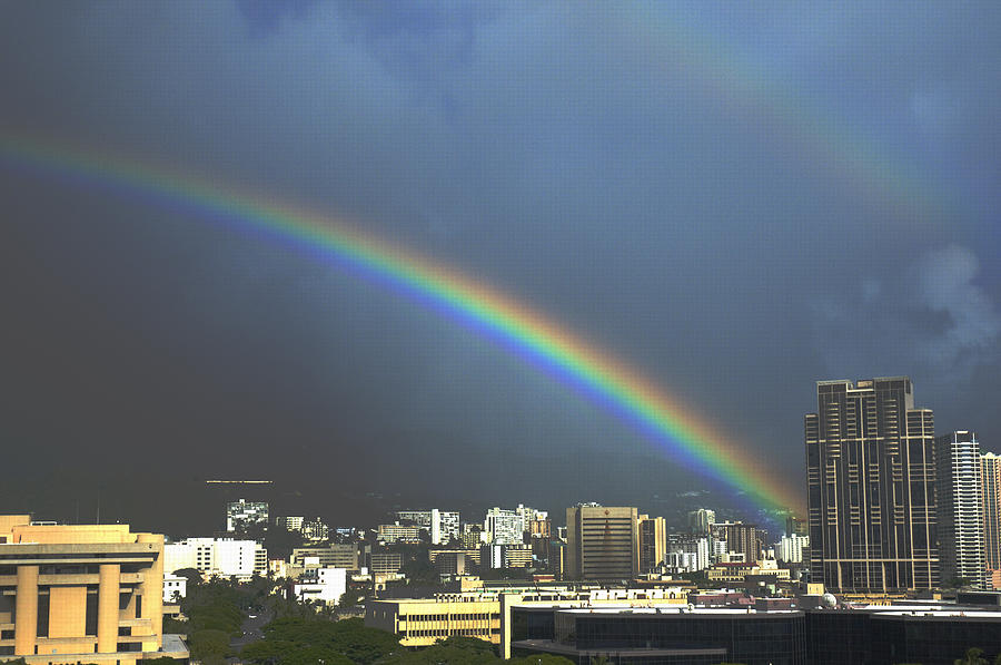 Honolulu Rainbow by Richard Henne
