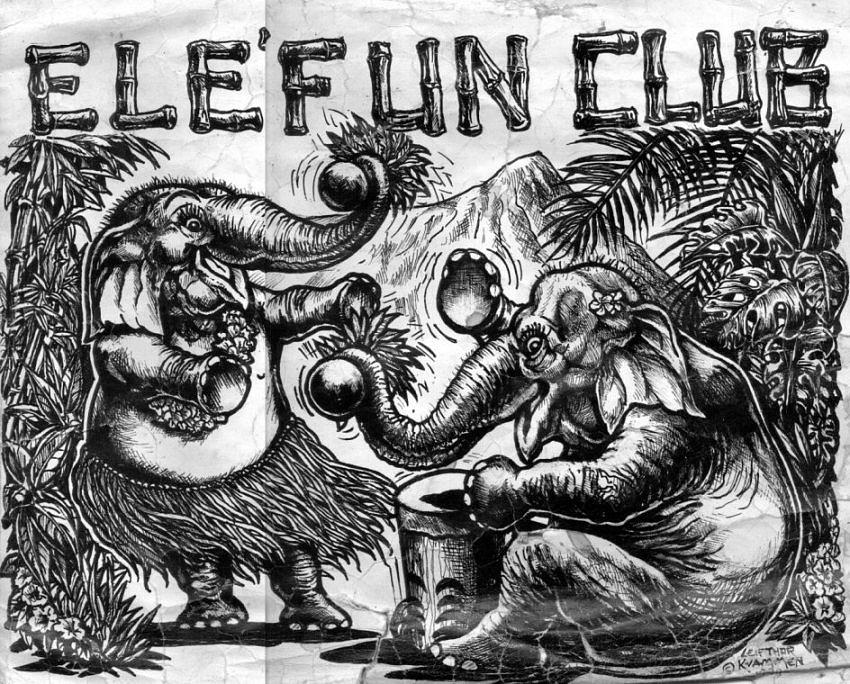 Honolulu Zoological Society Drawing by Leif Thor Kvammen