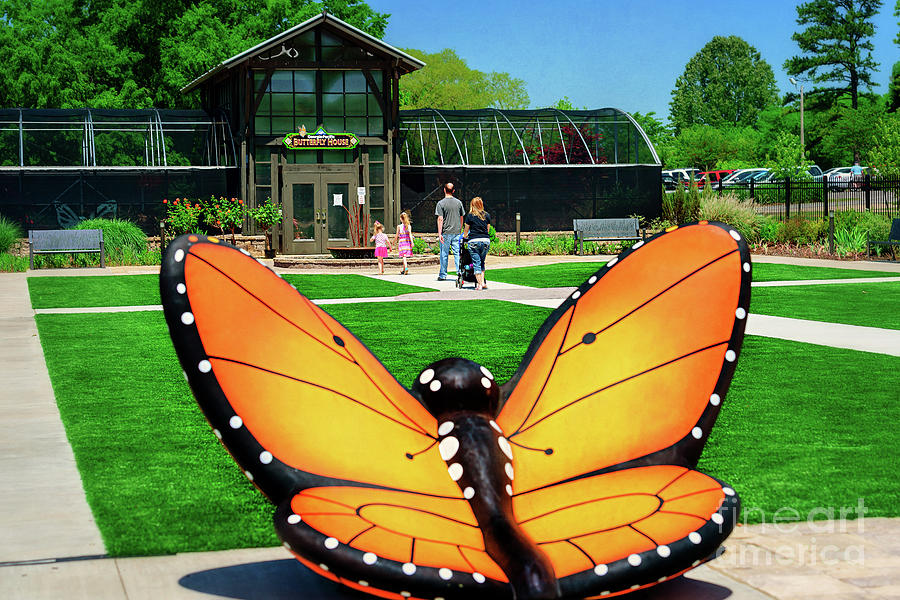 Tamyra Photograph - Honor Heights Butterfly House by Tamyra Ayles