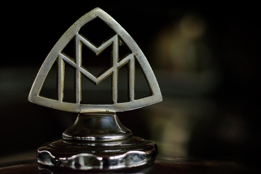 Hood Ornament Of Full Size Luxury Car Maybach Photograph By Toutouke A Y