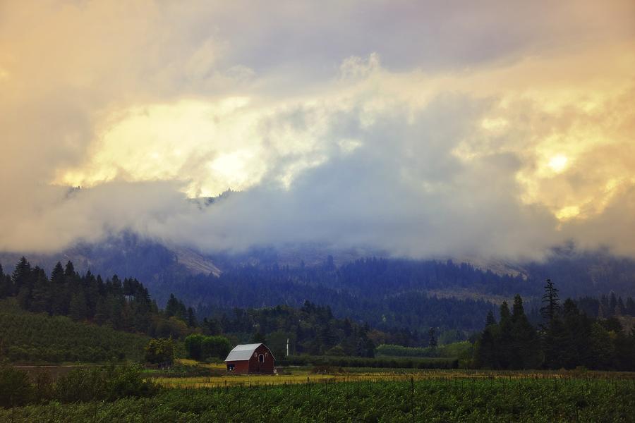 Hood River Photograph - Hood River - Season Of Beauty by Image Takers Photography LLC - Carol Haddon