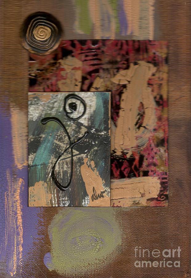 Wood Mixed Media - Hooray by Angela L Walker