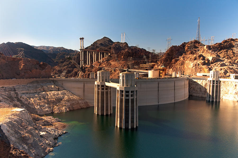 Hoover Dam Photograph - Hoover Dam by Melody Watson
