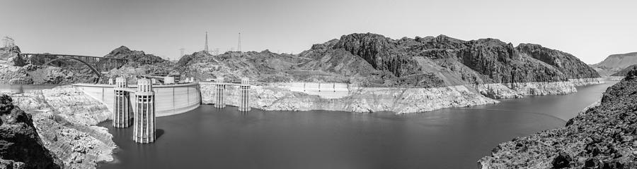 Hoover Dam Pano Photograph