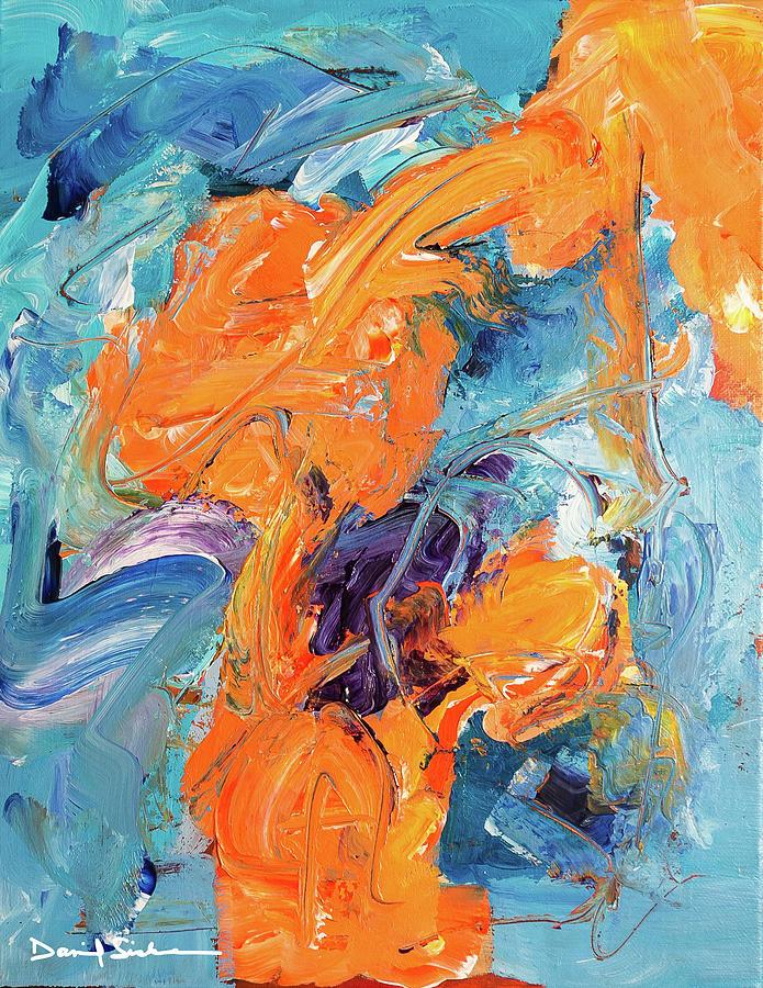 Abstract Painting - Hope 1 by Dan Sisken