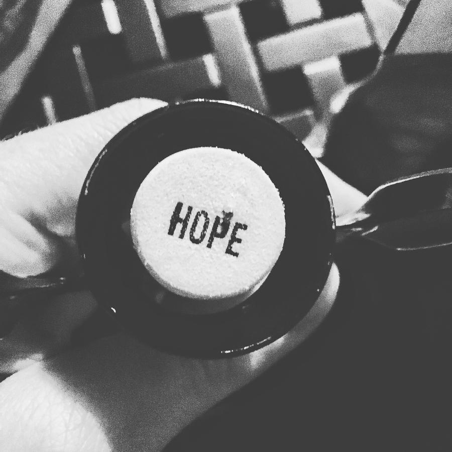 Hope Photograph - Hope Bnw by Joseph Mari
