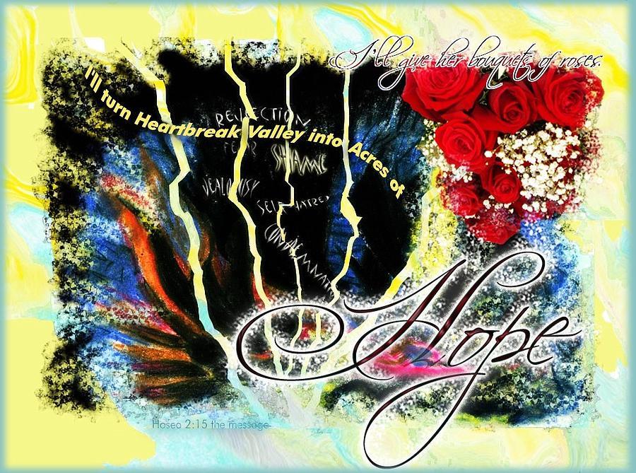 Healing Digital Art - Hope by Cassandra Donnelly