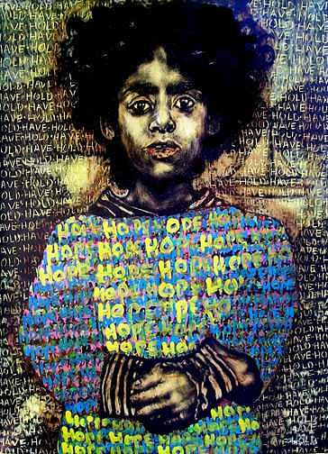 Hope Mixed Media by Chester Elmore