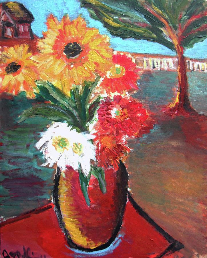 Flowers Painting - Hope  by Jon Baldwin  Art