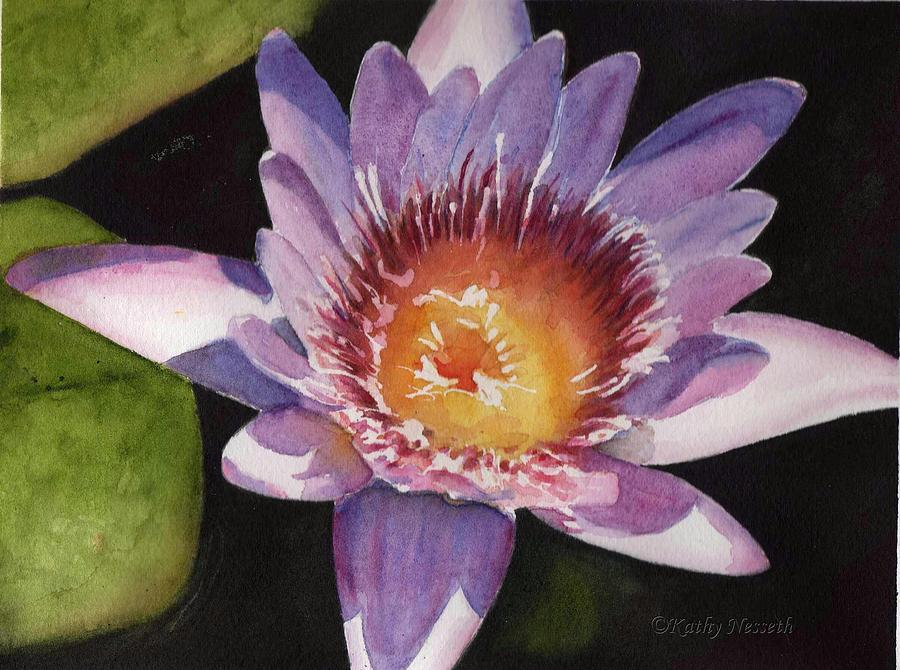 Watercolor Painting - Hope by Kathy Nesseth