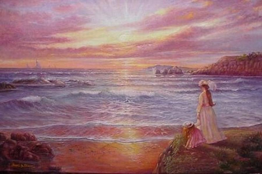 Seascape Painting - Hope by Naomi Dixon