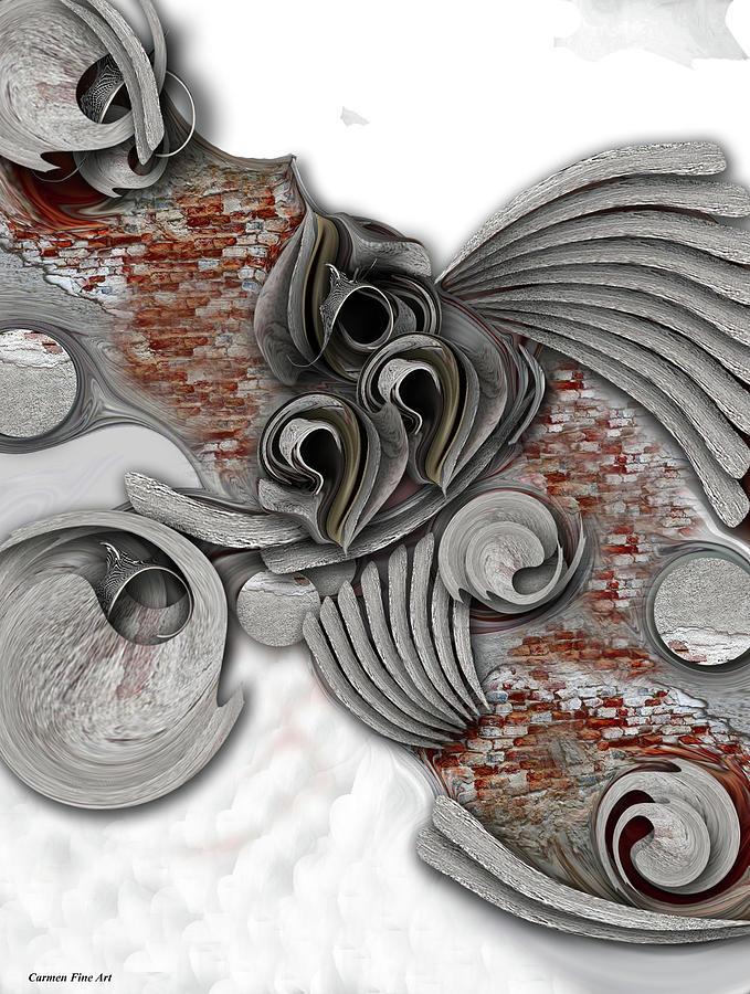 Hope Digital Art - Hope of Life  by Carmen Fine Art