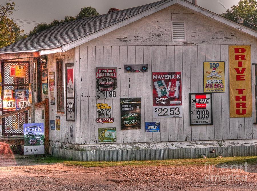 Smoke Shop Photograph - Hope Smoke by David Bearden