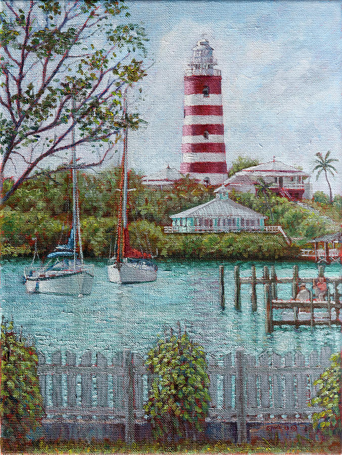 Hope Town Lighthouse by Ritchie Eyma