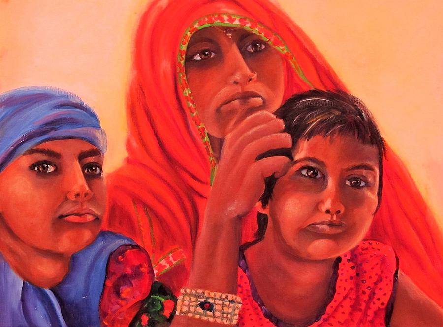 #hopeful in India by Carol Allen Anfinsen