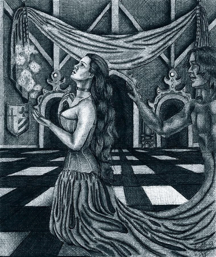 Fantasy Drawing - Hopes And Dreams by Scarlett Royal