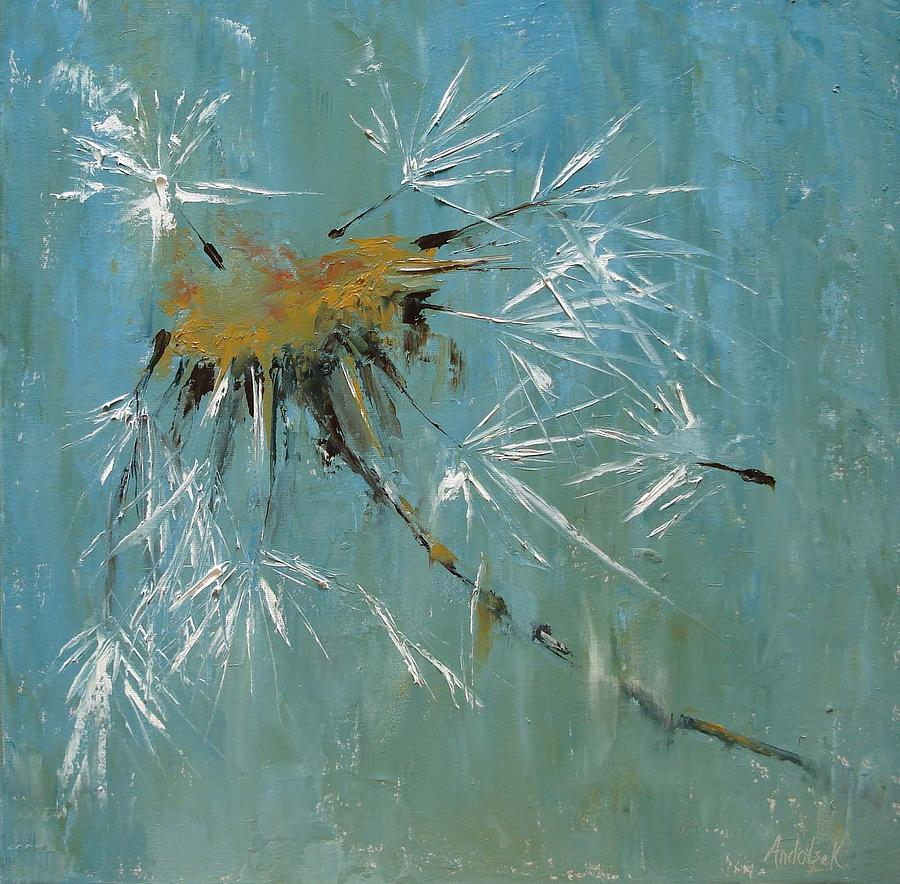 Plants Painting - Hopes by Barbara Andolsek