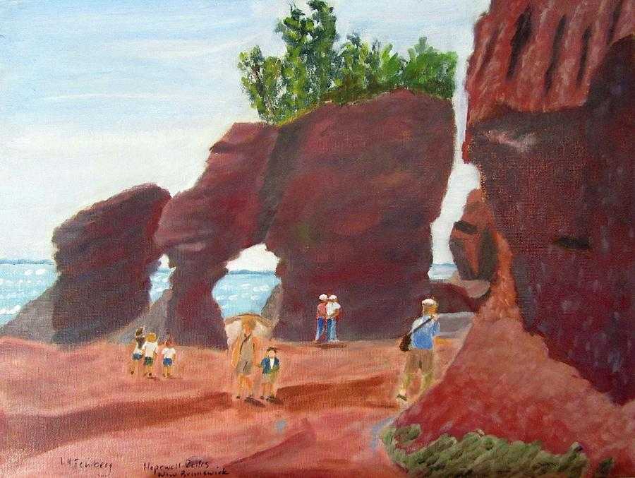 Hopewell Rocks2 by Linda Feinberg