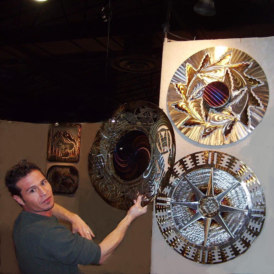 Native American Sculpture - Hopi Designs by Jason  Krob