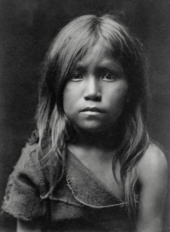 Hopi Indian Girl 1905 Photograph By Daniel Hagerman