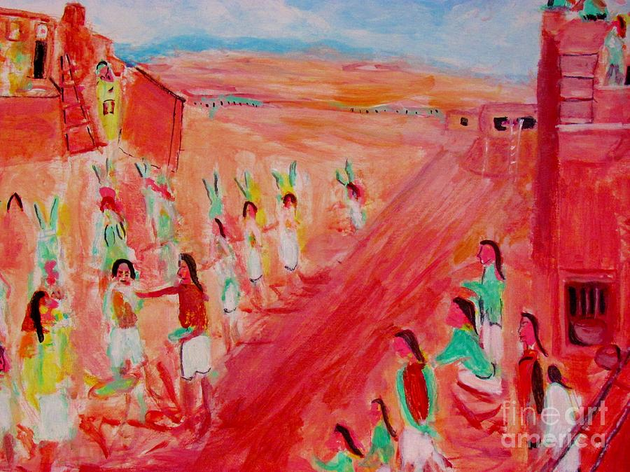 Hopi Indian Ritual by Stanley Morganstein
