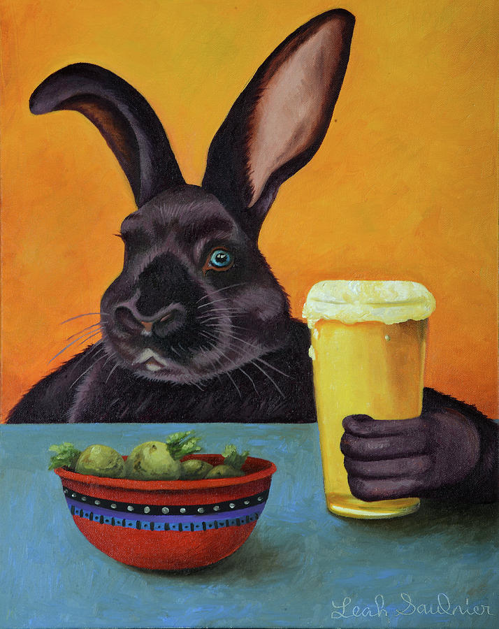 Hoppy Hour by Leah Saulnier The Painting Maniac