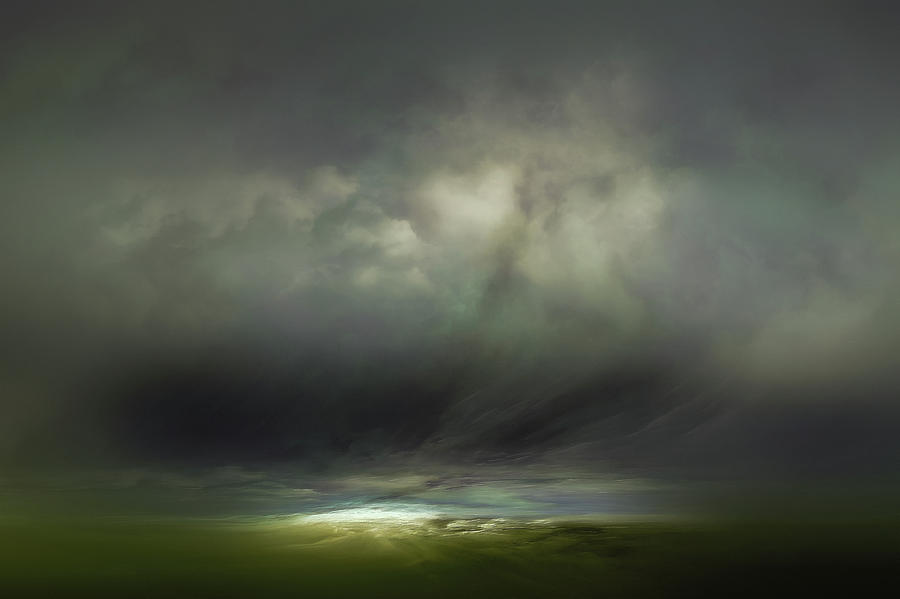 Atmosphere Mixed Media - Horizon by Lonnie Christopher