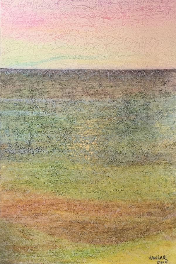 Colored Pencils Mixed Media - Horizon by Norma Duch