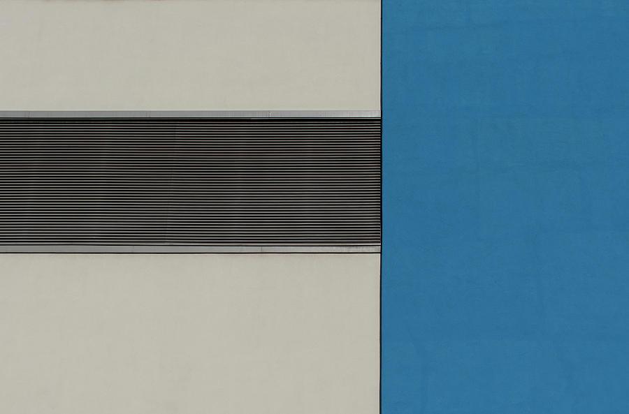 Urban Photograph - Horizontal Grille by Stuart Allen