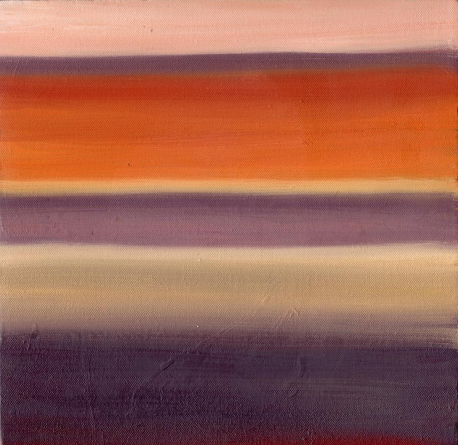 Horizon Painting - Horizontal Moods by Emily Freiman