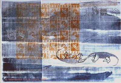 Anteater Print - Hormiguero Hormiguero by Liliana Beatriz Arnillas