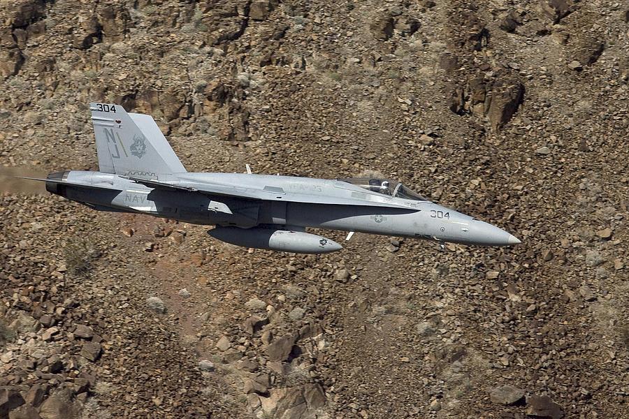 Jet Photograph - Hornet by Mirek  Towski