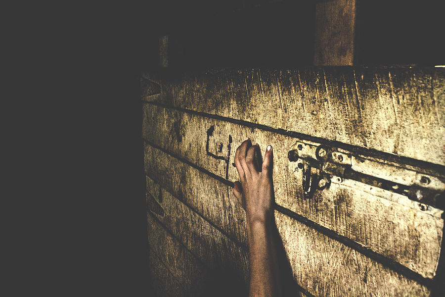 Horror Photograph - Horror Hand by Katherine Gaucher