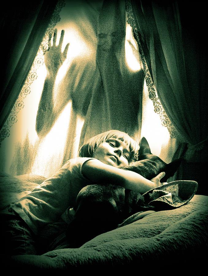Nightmare Digital Art - Horror by Joe Roberts