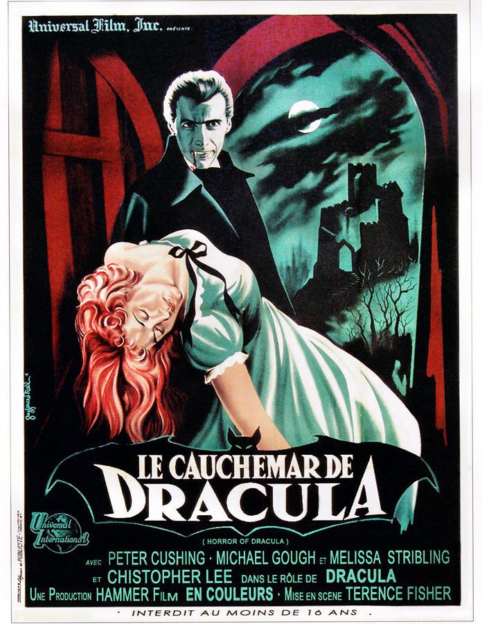 1958 Movies Photograph - Horror Of Dracula Aka Le Cauchemar De by Everett