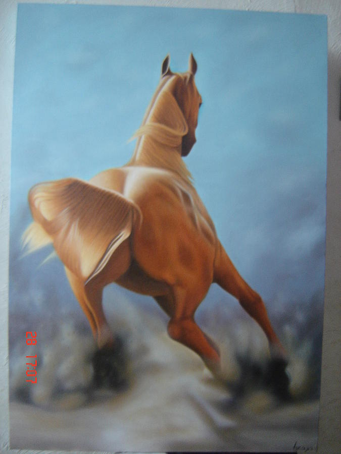 Horse Painting - Horse 2 by Luis  Jesus