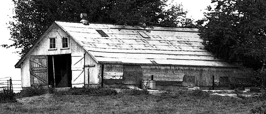 Barn Photograph - Horse Barn Now by Scott Washburn