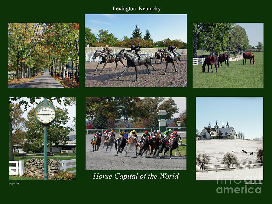 Lexington Photograph - Horse Capital Of The World by Roger Potts