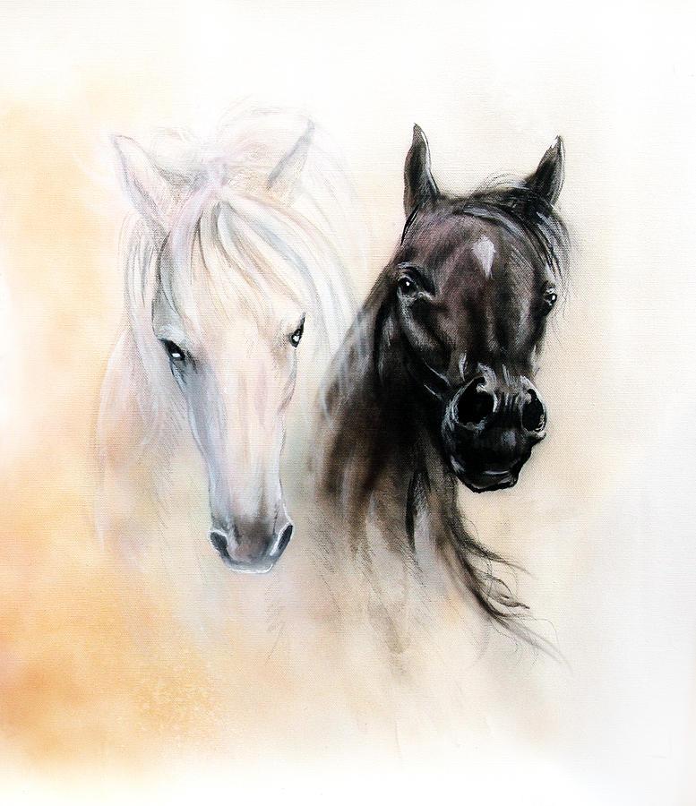Beautiful Black and White Arts