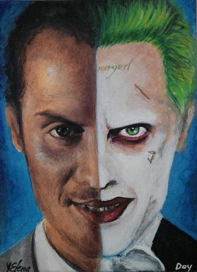 Moriarty And The Joker Painting