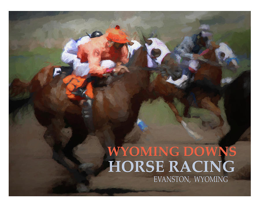 Horse Painting - Race To Your Dreams by Alexandra Ortiz de Fargher