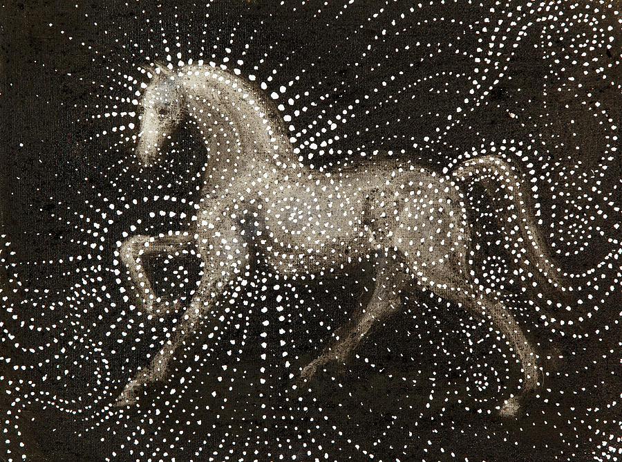 Dream Horse Painting - Horse by Sophy White