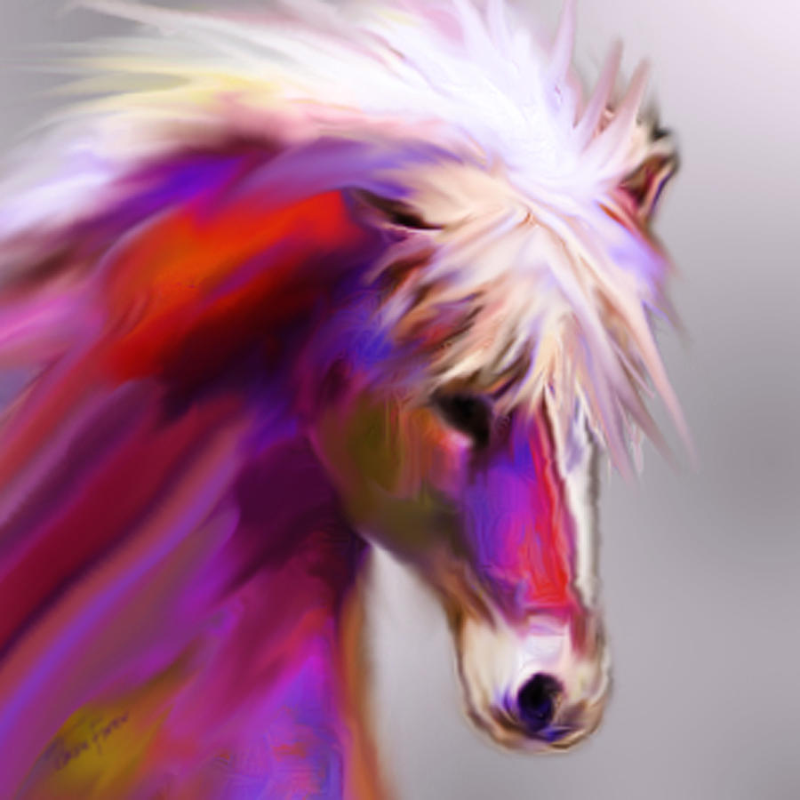 Horse True Colors by Jackie Flaten