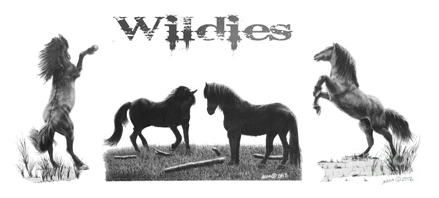 Horses Wildies by Marianne NANA Betts