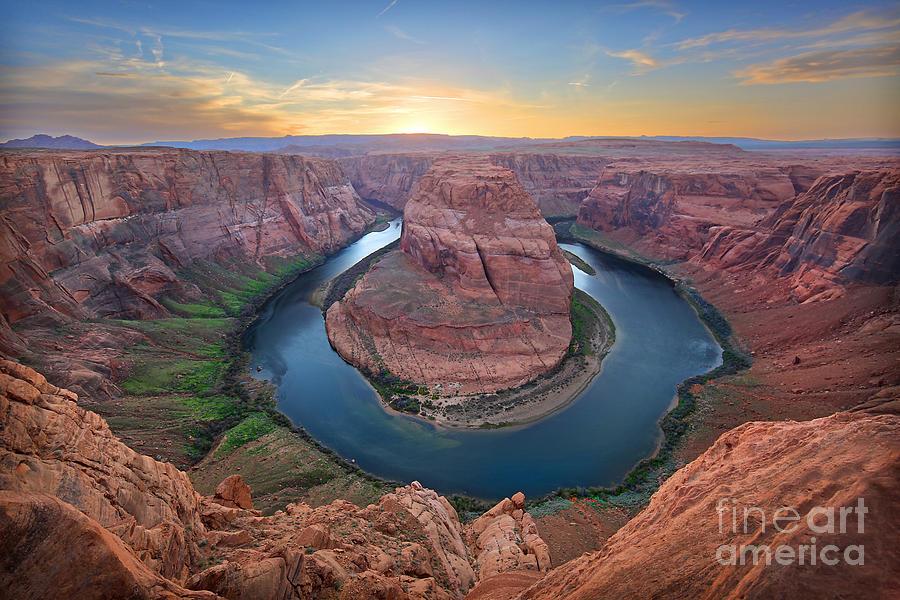 Horseshoe Bend Colorado River Arizona by Martin Konopacki