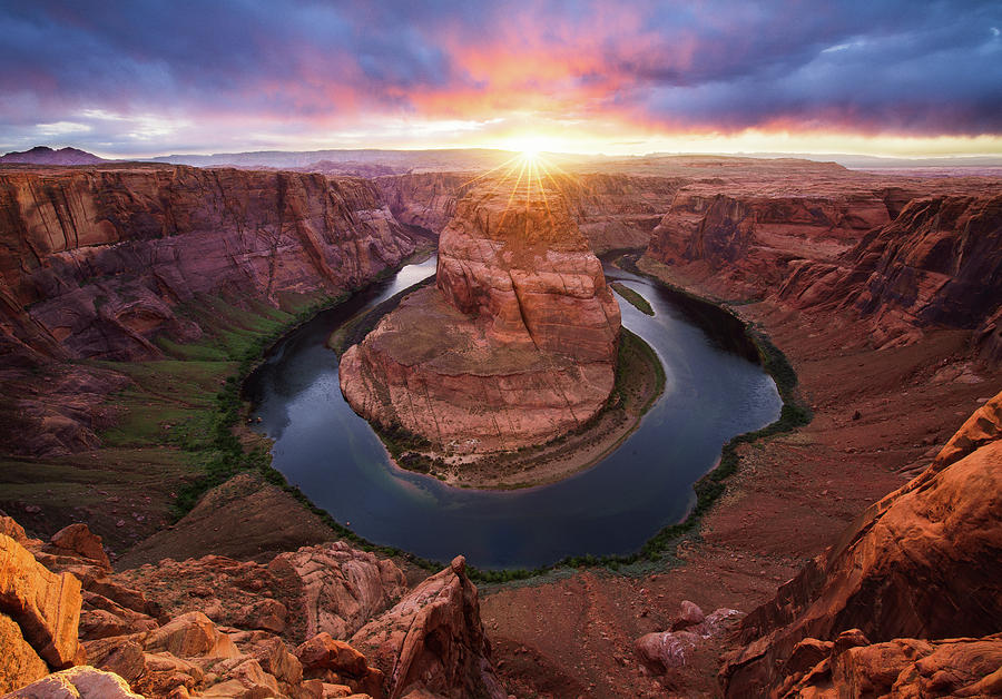 Horseshoe Bend Mega Sunset by Ryan Moyer